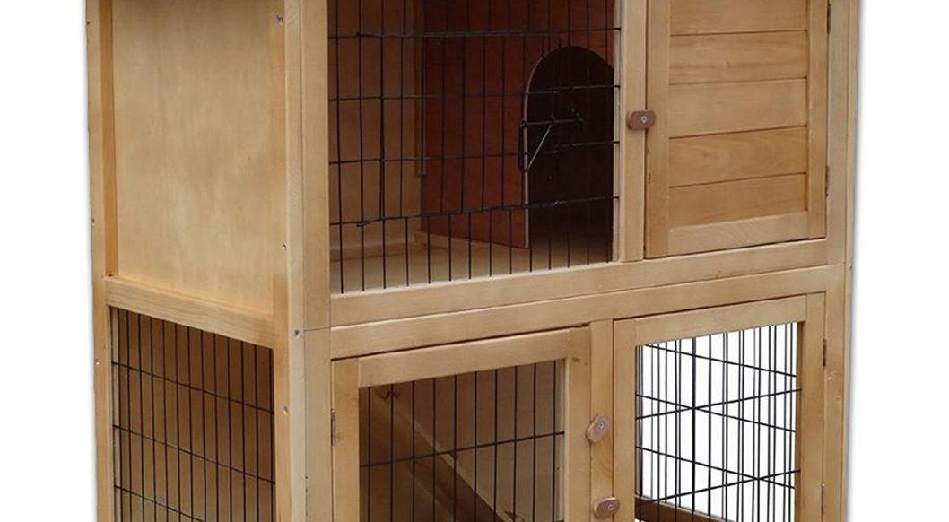 clapier cage de luxe dibéa