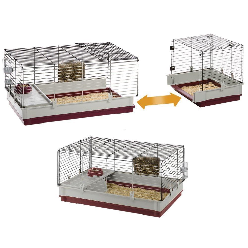 cage à lapin ferplast krolik 140